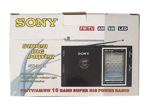 Radio chuyên dụng Sony SW-9120