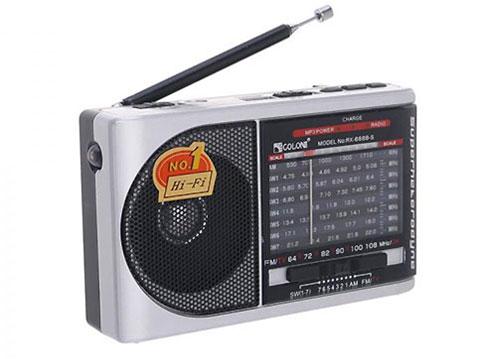 Radio Golon RX-6688, radio 9 band kỹ thuật số, dùng pin rời