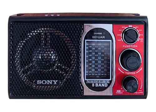 Radio Sony SW-001UAR, 8 band ( AM/FM/SW1-SW6)
