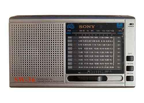 Radio SONY SW-36 - đài FM 10 band ( FM/ WM/ SW1 - SW8 )