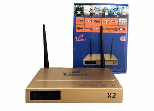 Tivi Box Vinabox X2 - Biến Tivi Thường Thành Tivi Thông Minh