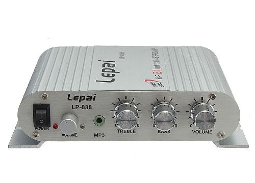 Amply mini Hi-Fi 2.1 Lepai LP-838
