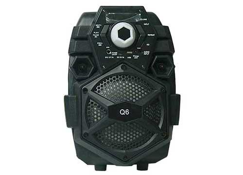 Loa bluetooth - karaoke Q6 kèm mic