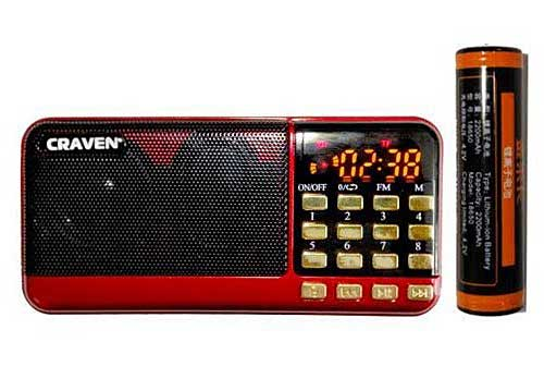 Loa Thẻ Nhớ , USB Craven CR-25