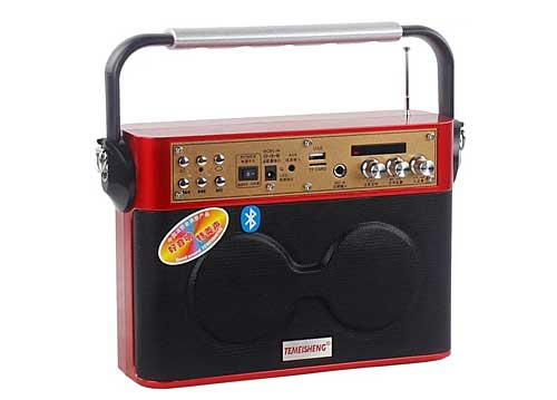 Máy Trợ Giảng + Loa Hát Karaoke Temeisheng A4-2