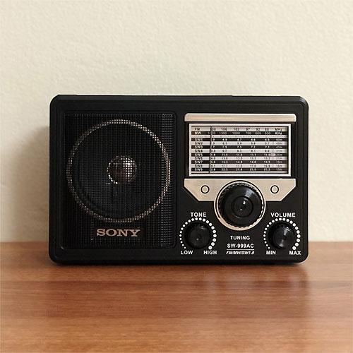 Đài Radio Sony SW-999AC 11 band, bắt sóng tốt