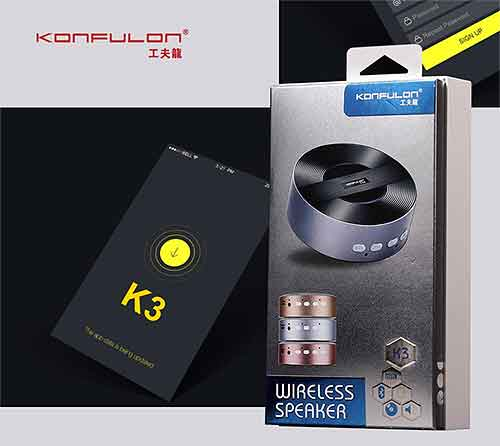 Loa bluetooth mini Konfulon K3