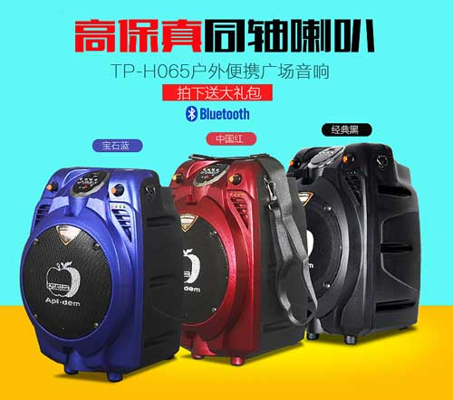 Loa bluetooth - trợ giảng Apl.dem TP-H065