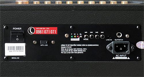 Loa karaoke KBeatbox CS450, Loa di động cao cấp, RMS 150W