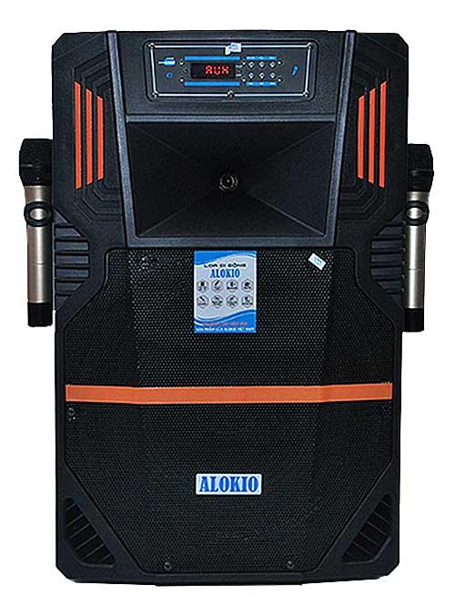 Loa kéo Alokio VB12 4 tấc, loa karaoke chính hãng