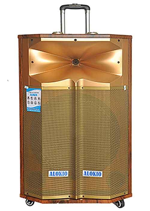 Loa kéo Alokio WML-TP815 đời 2019, loa hát karaoke công suất lớn