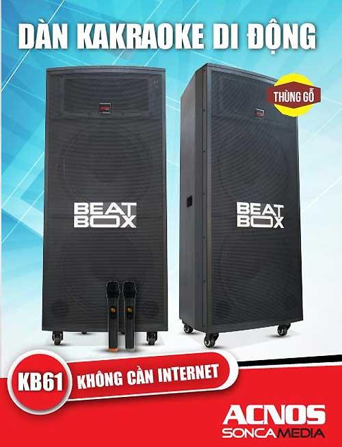 Loa kéo Beatbox -Acnos-KBeatbox mở đầu cho một xu thế mới - 2