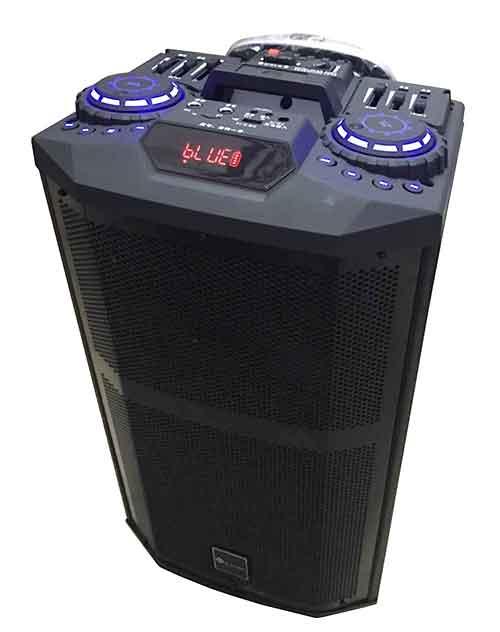 Loa kéo di động Leong DJ-K5 3 tấc