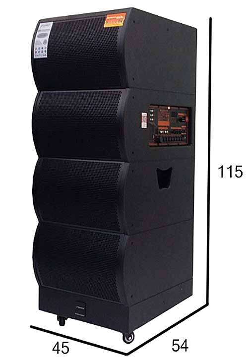 Loa kéo di động Sansui SG5-215 bass đôi 5 tấc