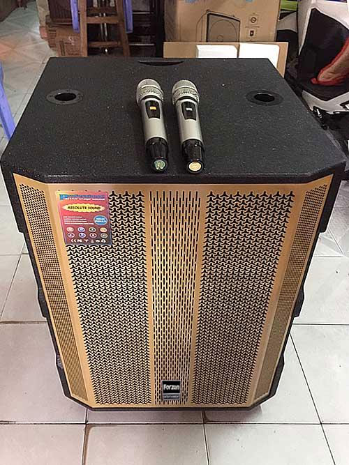Loa kéo Forzen F-18C, loa karaoke bass 5 tấc, max 800W