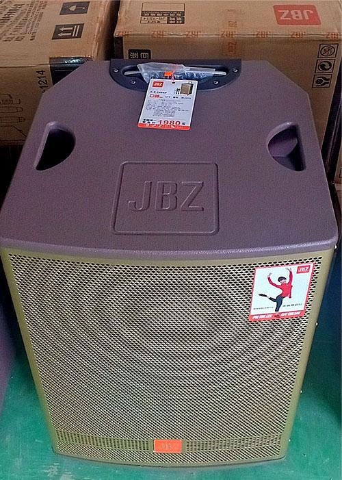 Loa kéo JBZ JB+1015, loa di động karaoke 3 tấc, max 100W
