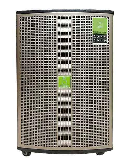 Loa kéo karaoke SOK NE901, loa thùng gỗ 2.5 tấc, max 120W