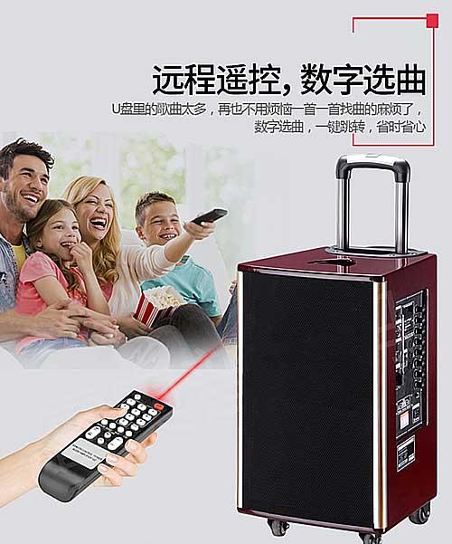 Loa kẹo kéo MBA SA-8703, loa hát karaoke cao cấp