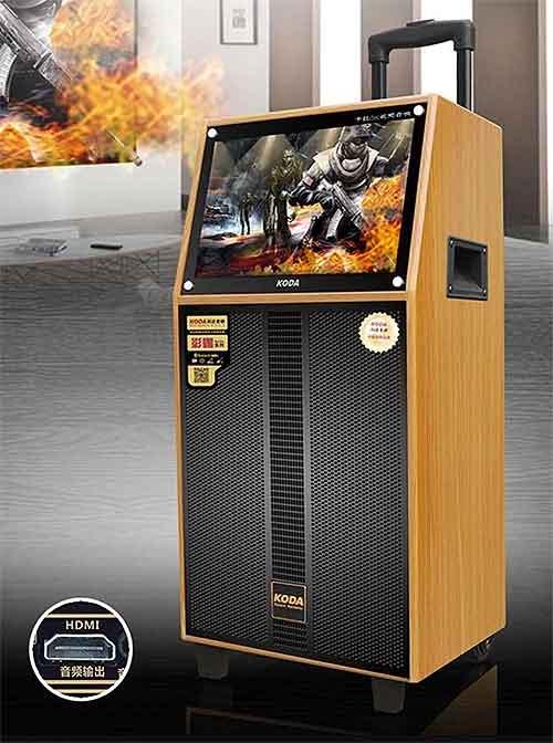 Loa kéo Koda KD-12C, màn hình cảm ứng 15.4 inch, max 450W