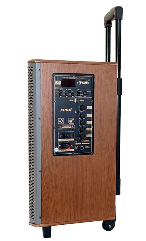 Loa kéo Koda KD-1515, loa karaoke chính hãng, bass 4 tấc