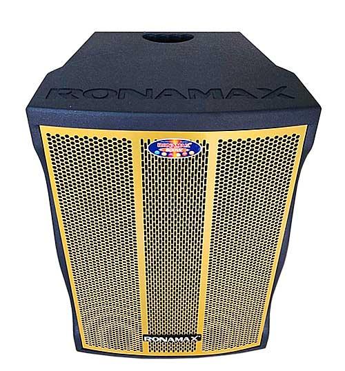 Loa kéo Ronamax MF15, loa karaoke thùng gỗ