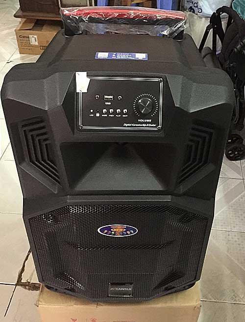 Loa kéo Sansui SS1-12 pro, hát karaoke online + 30.000 bài hát