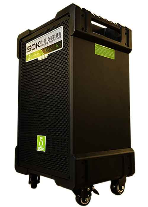 Loa kéo SOK NE703, loa thiết kế kiểu vali kéo, âm thanh hi-end