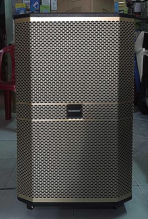 Loa kéo Temeisheng ED-1506, loa di động công karaoke suất lớn