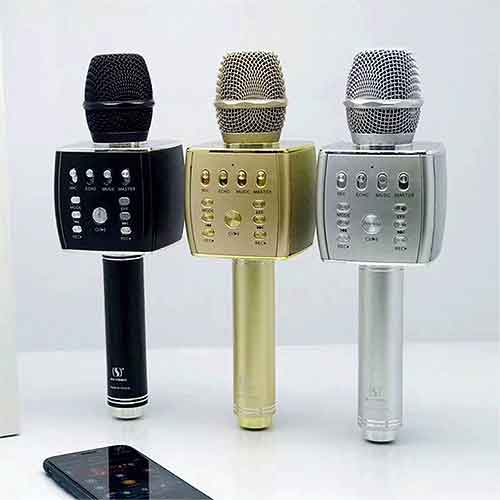 Mic karaoke bluetooth SU-YOSD YS-93, âm thanh hay - RMS 5W