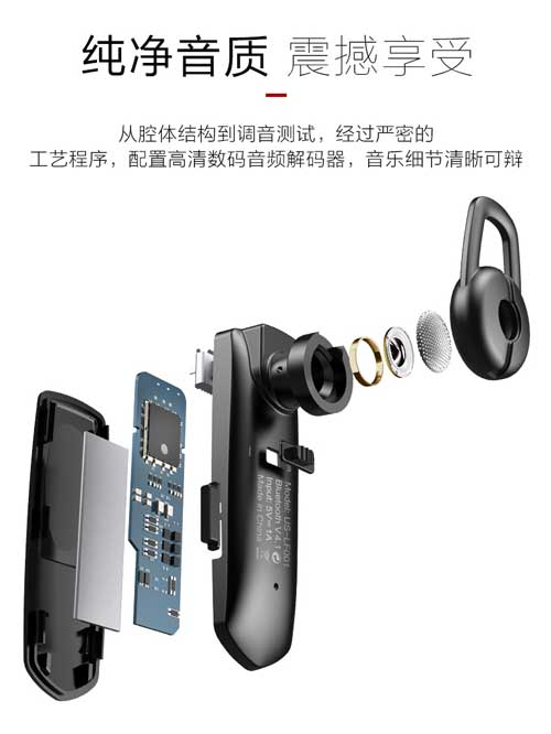 Tai nghe bluetooth USAMS US-LF001