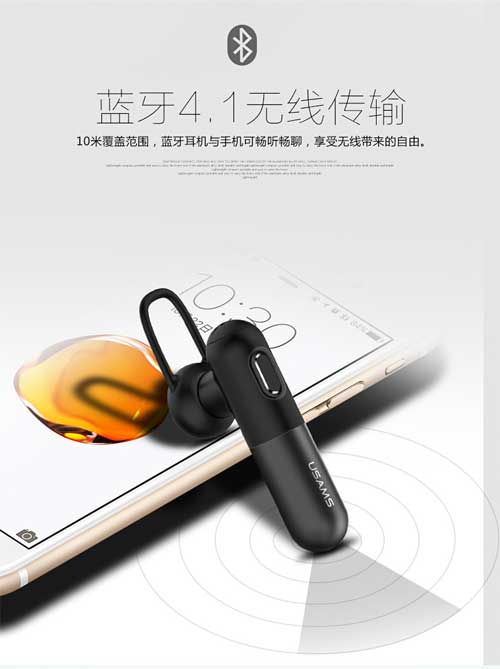 Tai nghe bluetooth USAMS US-LO001